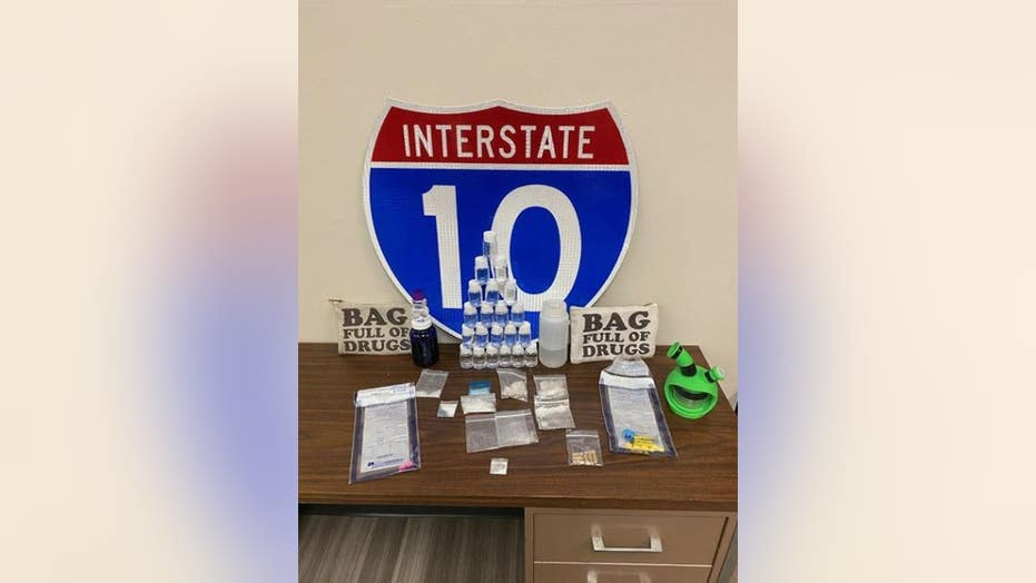 Westlake Legal Group Santa-Rosa-Sheriffs-Office Florida police discover illegal narcotics in bags labeled 'BAG FULL OF DRUGS,' our K-9s 'can read' fox-news/us/us-regions/southeast/florida fox-news/us/crime/police-and-law-enforcement fox news fnc/us fnc df9a7889-c862-5559-8cca-080c13d891eb David Aaro article