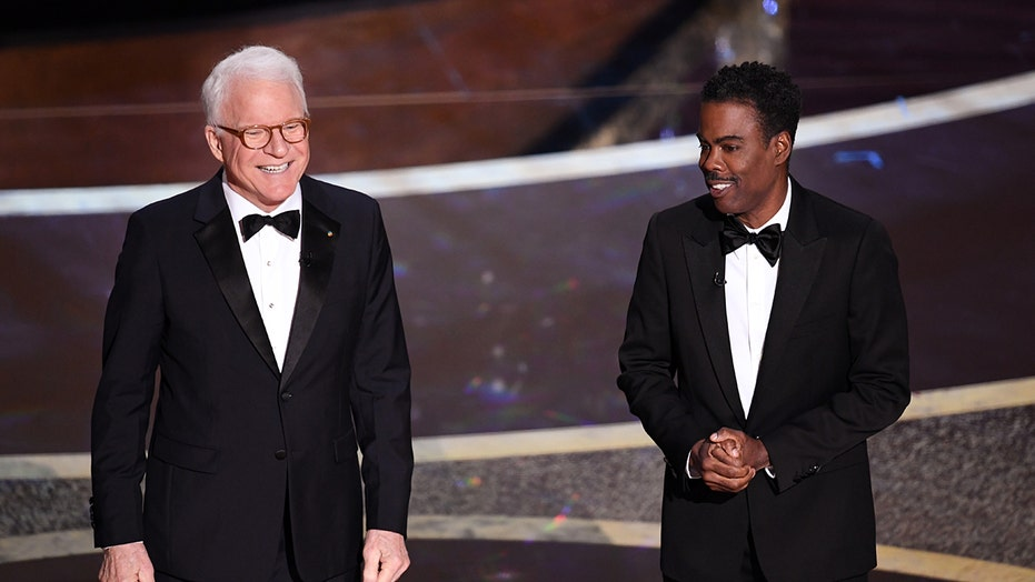 Image result for steve martin chris rock oscars 2020