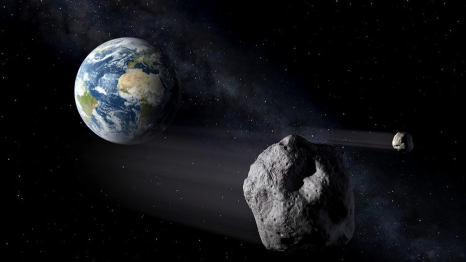 'Potentially hazardous' asteroid wider than two football fields set to fly past Earth next week