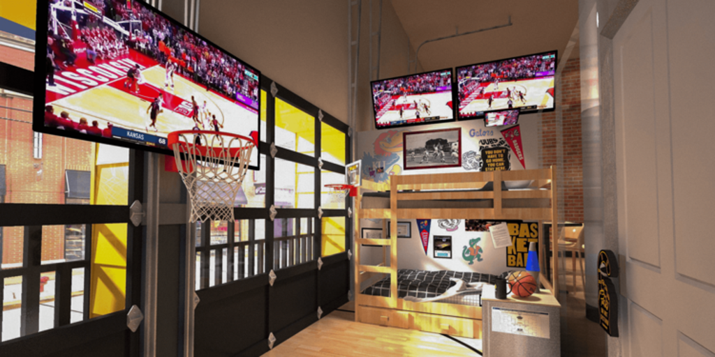 BuffaloWildWingsRoom1 - Buffalo Wild Wings ups the ante for Super Bowl OT, Krystal information for chapter, and Starbucks units sights on sustainability