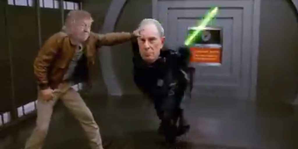 Trump mocks 'Mini Mike' with 'Spaceballs' meme after Bloomberg hits POTUS with 'Star Wars'