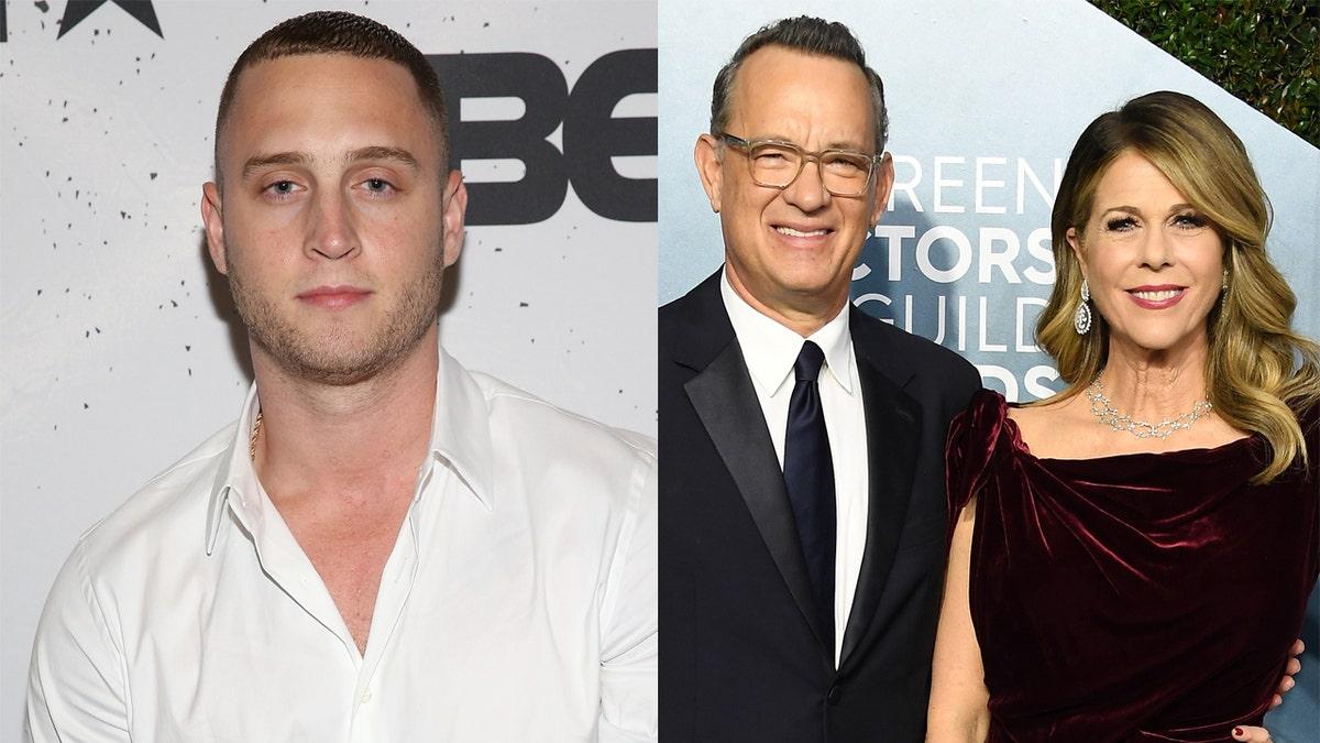 Twitter Roasts Tom Hanks Rita Wilson S Son Chet For White Boy Summer Video Fox News