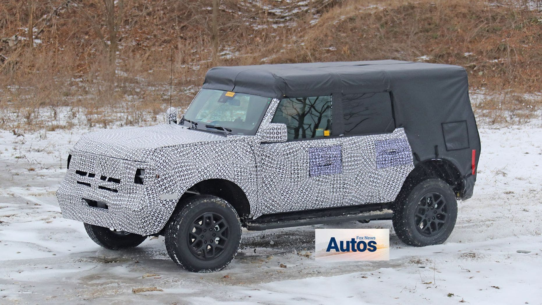 the 2021 ford bronco has been spotted  the motor masters