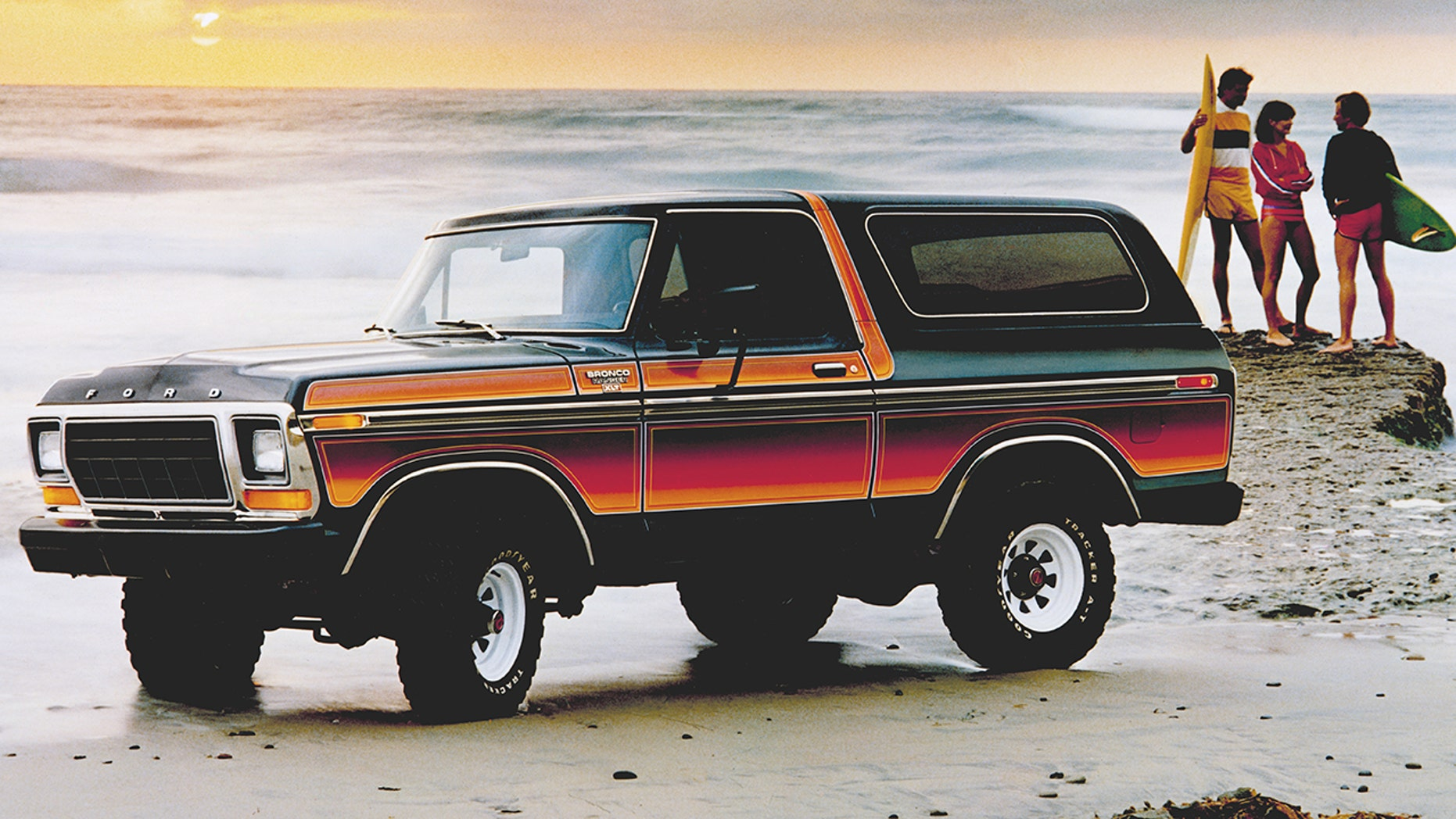 Tony Stewart's Ford Bronco