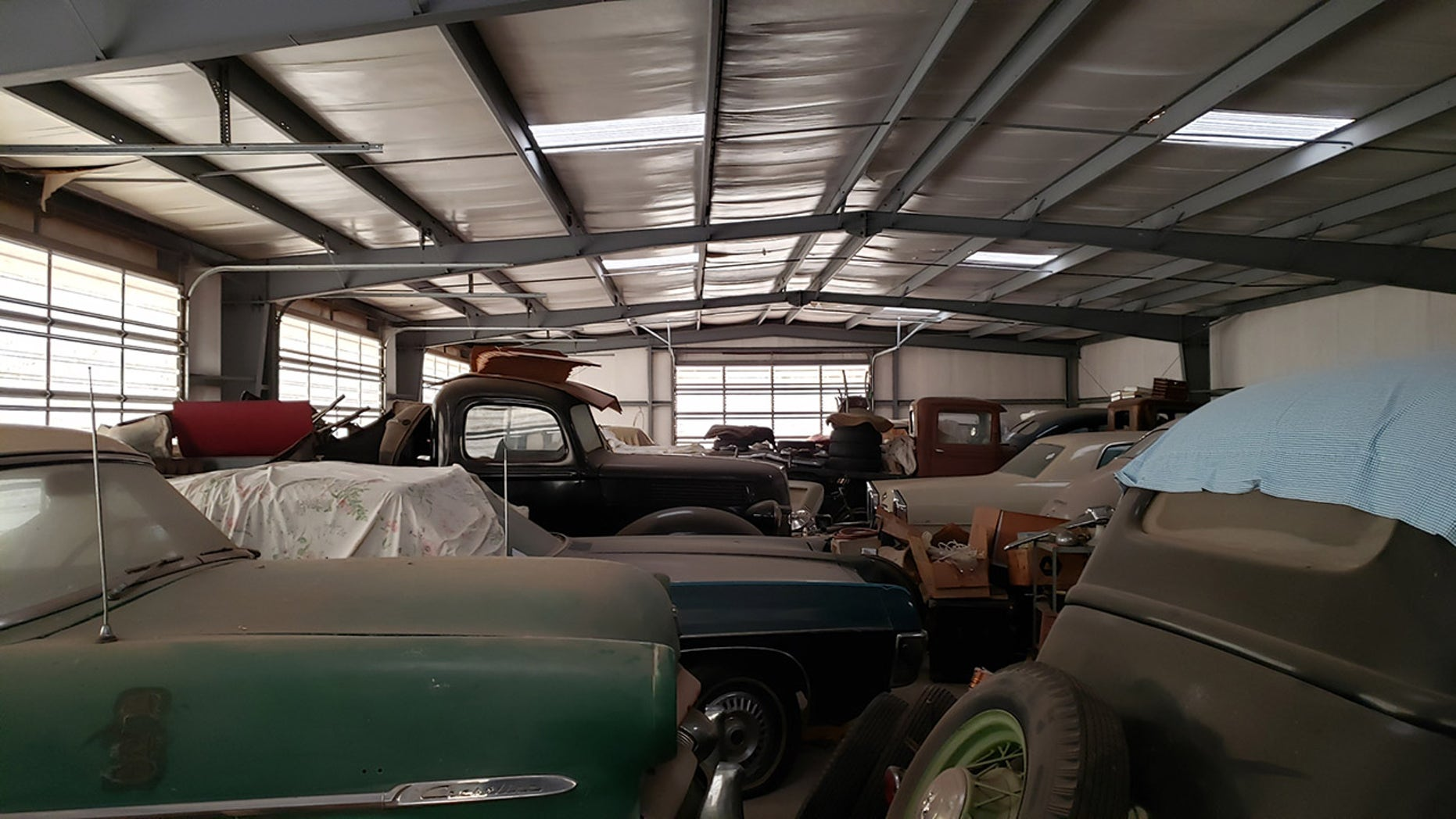 Bob Regehr massive secret car collection up for auction ...