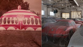 Moon-Walk bounce-house inventor's massive secret car collection up for auction