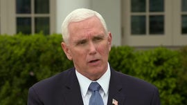 Pence: Trump putting health and safety of Americans first, praises hospital workers