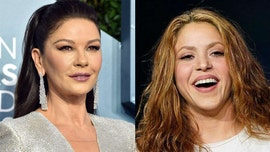 Catherine Zeta-Jones imitates Shakira in a coronavirus quarantine game of 'charades gone wrong'