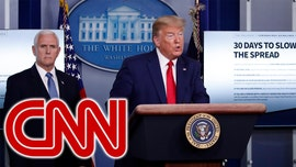CNN faces backlash for skipping Trump's initial remarks at White House coronavirus briefing