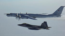 US F-22 stealth fighter jets intercept Russian patrol aircraft near Alaska