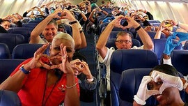 Coronavirus relief: Photo of health care workers on Southwest flight goes viral