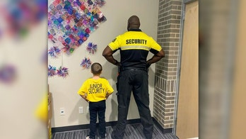 Arkansas boy dresses as school security officer for 'Favorite Person' day