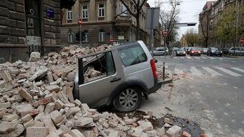 Croatia earthquake shakes capital Zagreb, damaging buildings