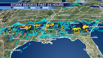 Strong to severe thunderstorms possible across parts of Gulf States, Southeast