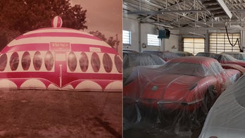 Moon-Walk bounce-house designer's massive secret car collection up for auction