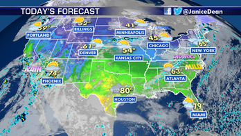 Tranquil weather for primary states on 'mini Super Tuesday'