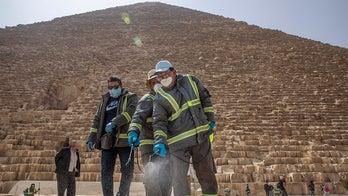 Egypt starts deep-cleaning pyramids as coronavirus keeps tourists away