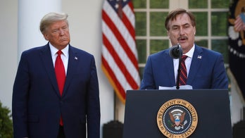 MyPillow founder Mike Lindell, at White House coronavirus briefing, tells people to pray during crisis