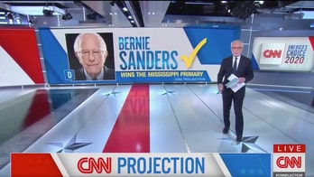 CNN mocked for airing graphic declaring Sanders the winner in Mississippi