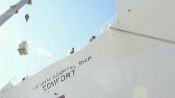 Navy Secretary says hospital ships should bring 'comfort' to coastal coronavirus hotspots