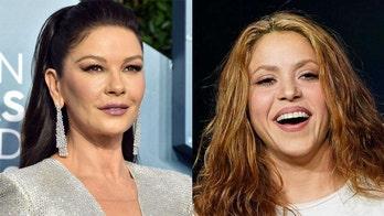 Catherine Zeta-Jones imitates Shakira in a coronavirus quarantine game of 'charades gone wrong'