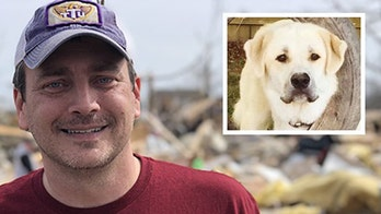 Tennessee 鈥榟ero鈥� dog dies after saving family from deadly tornado