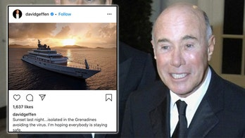 David Geffen sparks backlash for flaunting his self-quarantine from a $590M superyacht