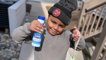 Boy, 7, uses $600 of savings to make coronavirus care packages for seniors, feed 90 students