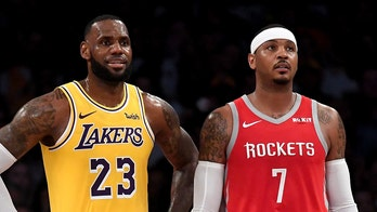 LeBron James saved Carmelo Anthony's life on Bahamas vacation: 'He jumped off the boat into the water'
