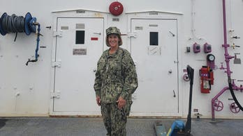 Military reservist nurse running for Congress takes on mission aboard USNS Comfort in coronavirus response