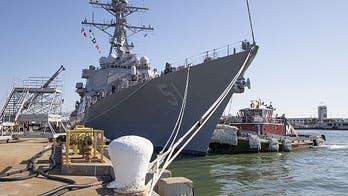 Navy builds 2nd new super high-tech Flight III destroyer