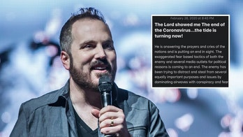 Christian pastor Shawn Bolz: 'Lord showed me the end of the coronavirus'