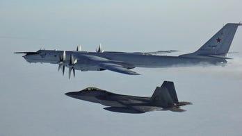 US F-22 stealth fighter jets intercept Russian patrol aircraft near Alaska