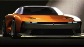 This futuristic Dodge Challenger design was denied for one reason