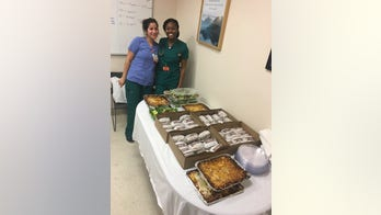 NYC restaurateur delivers hundreds of donated meals to health care workers during coronavirus