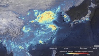 Emissions over China and Italy plunge during coronavirus outbreak, satellite images reveal