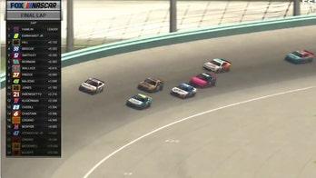 Denny Hamlin wins eNASCAR virtual race on Homestead-Miami track
