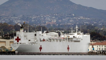 USNS Mercy mission aims to ease strain on Los Angeles-area hospitals, commander says