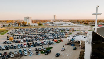 Oklahoma megachurch hosts epic drive-in, grocery giveaway in response to coronavirus outbreak