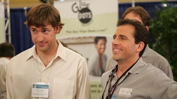 John Krasinski invites 'Office' co-star Steve Carell as first guest for YouTube show called 'Some Good News'