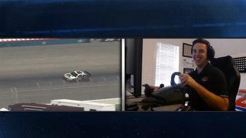 Timmy Hill wins virtual Texas NASCAR race