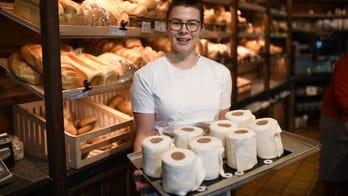 Bakery sells toilet paper cakes amid coronavirus-caused shortage