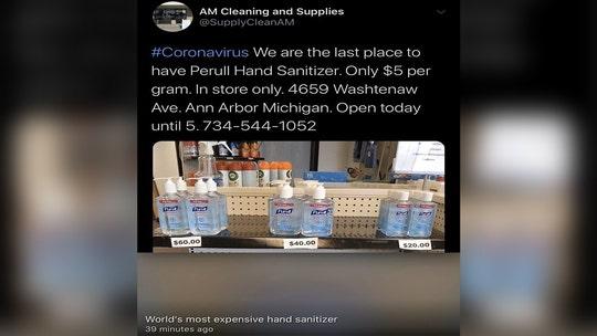 Michigan AG opens coronavirus price-gouging probe into seller of hand sanitizer