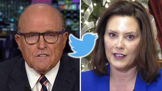 Twitter deletes Rudy Giuliani's tweet for violating rules in attack against Michigan governor