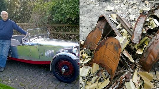 Classic 'Phoenix' sports car burned in barn fire restored
