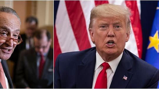 Trump fires back at Schumer over coronavirus criticism: 'No wonder AOC is thinking about running against you'