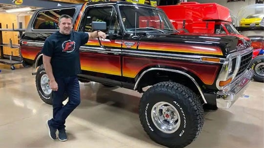 Tony Stewart's Ford Bronco is a blast from the past