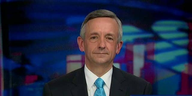 Dr. Robert Jeffress is holding Sunday services with multiple locations, following county guidelines that prohibit meetings over 500 people.