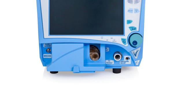 This undated photo provided by Vyaire Medical, Inc. shows a VELA ventilator.