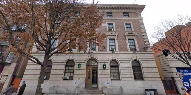NYPD's 32nd Precinct in Harlem.